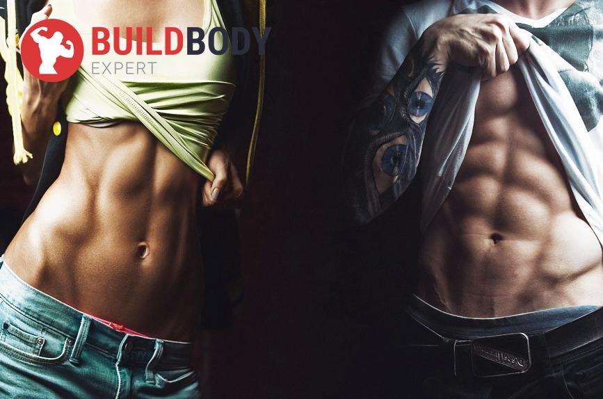 Разница между сушкой тела и похудением