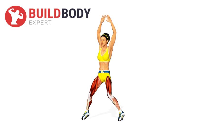 """""""Джампинг Джек"""": какие работают мышцы"""
