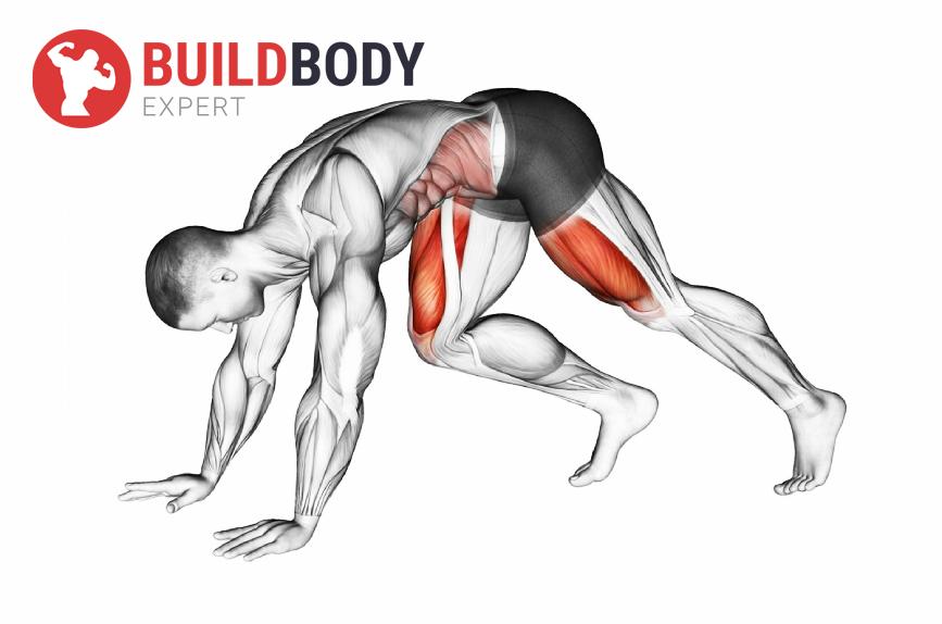 """Упражнение """"Скалолаз"""": какие работают мышцы"""