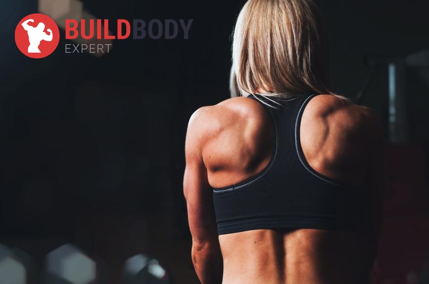 Во время выполнения планки прорабатываются крупные мышцы спины