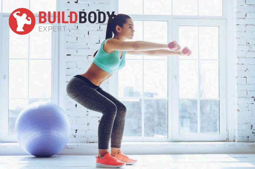 Базовые упражнения для набора веса девушкам- приседания