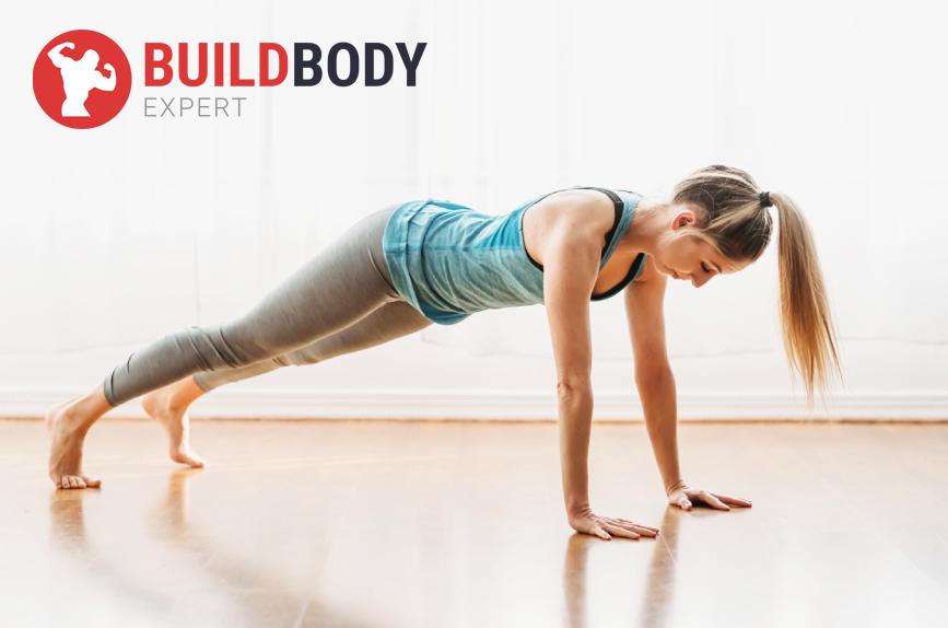 Классическая планка – идеальный вариант статической нагрузки на поперечную мышцу живота.